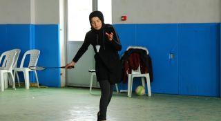 Hevesle başladıkları badminton tutkuları oldu
