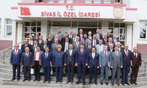 İl Genel Meclisi üyelerine veda programı