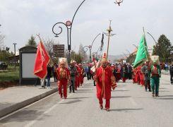 Bahar şenliği Mehteran yürüyüşü ile başladı